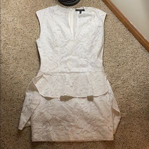 BCBG White Lace Dress - Size 4
